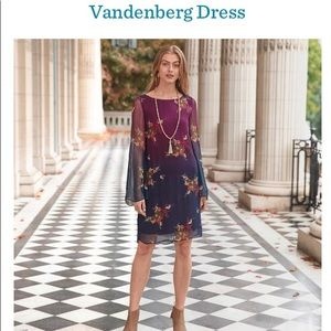 Soft colorful dress from Sundance Catalog.